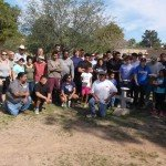 Assisting Gangs to Jobs in the 2015 community cleanup day at Guadalupe Cemetary
