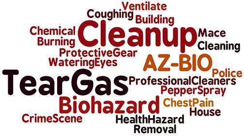 Tear Gas Cleanup