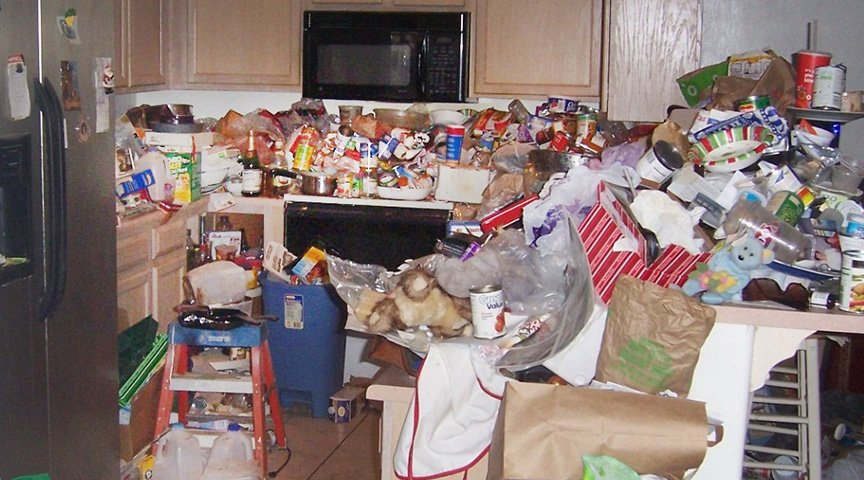 How to Clean After Hoarding