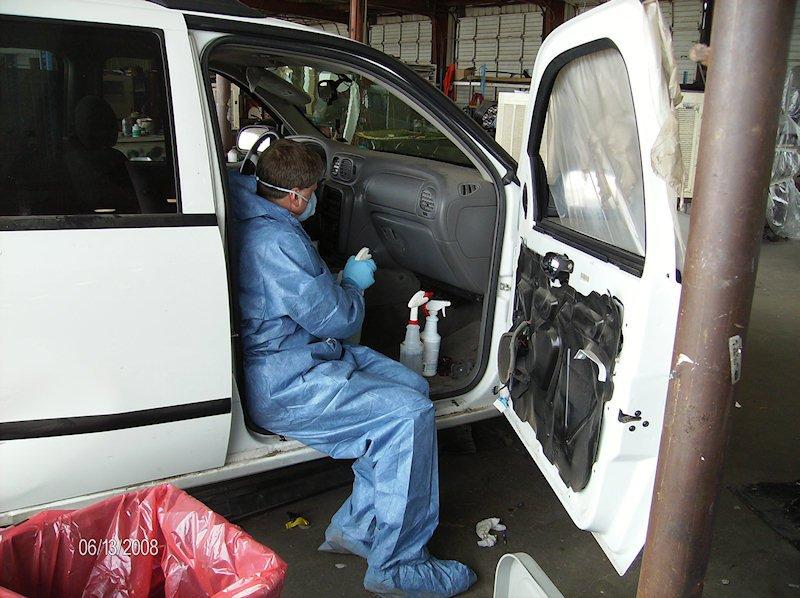 Vehicle Biohazard Cleanup